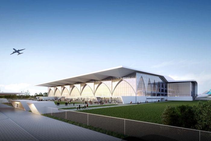 Neues Terminal in Taschkent
