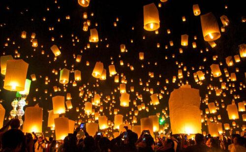 Lichterfest Thailand