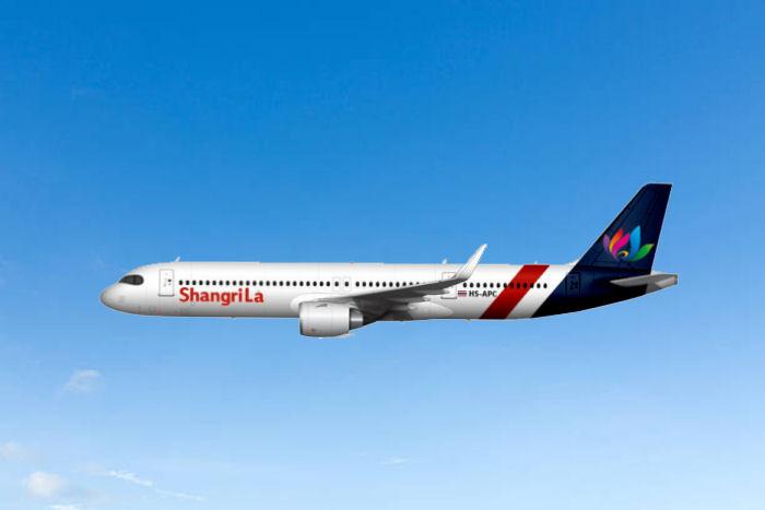 A321LR der Shangri La