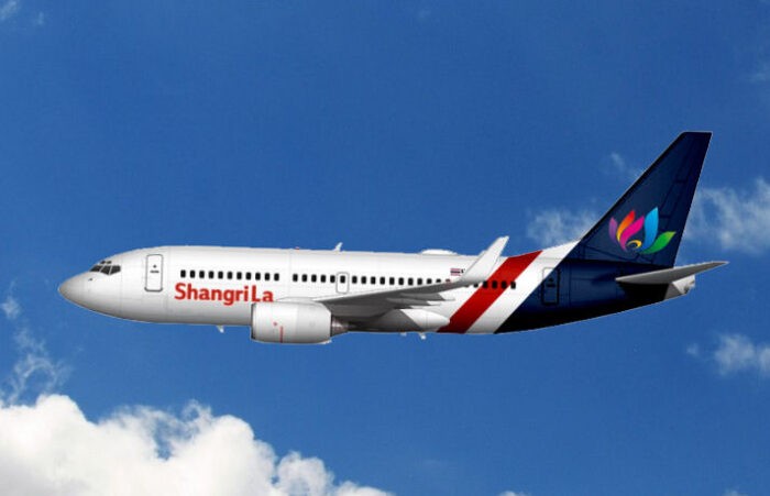 B737-700 der Shangri La