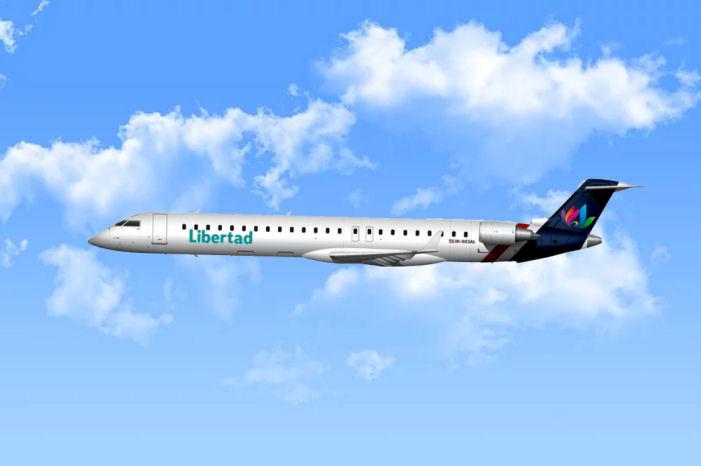 CRJ 900 der Libertad