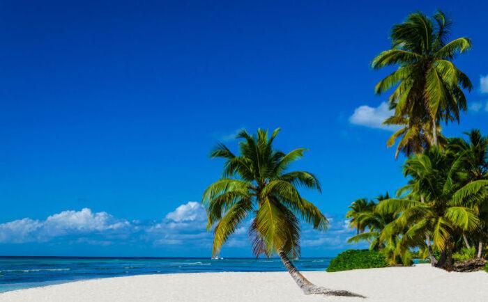 Strand auf Martinque