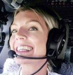 Sophie Sundin, Pilotin