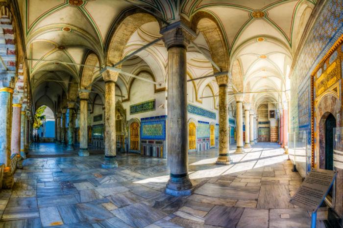 Im Topkapiepalast Istanbul