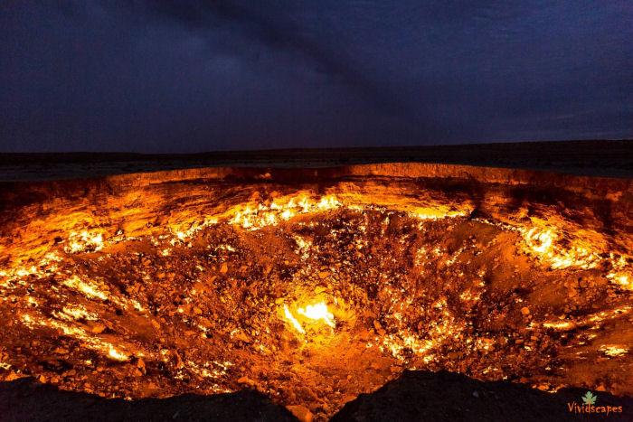 Hell's Gate Turkmenistan